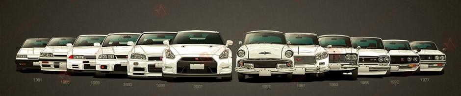 История марки Nissan